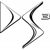 Sticker Ds3 Logo Simple