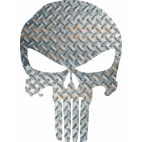 Sticker Punisher Aluminium