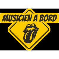 Musicien à bord