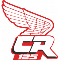 Sticker HONDA CR 125 VERSO