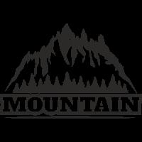 Sticker Montagnes Déco