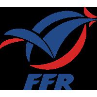 Sticker Rugby FFR Fédération Française de Rugby XV de France