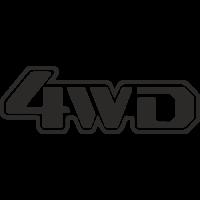Sticker 4x4 4WD