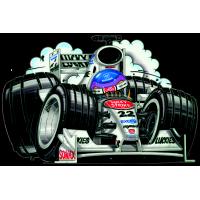 Autocollant F1_BMW_Schumacher