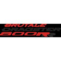 Sticker MV AGUSTA BRUTALE DRAGSTER 800RR Couleur