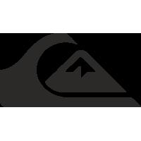 Sticker Quiksilver logo