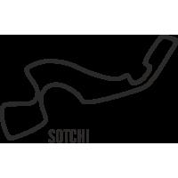 Sticker Circuit Sotchi