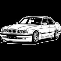 Sticker BMW Car 6