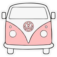 Autocollant Combi Volkswagen