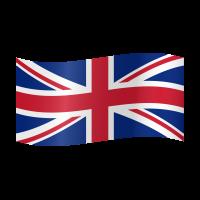 Autocollant Drapeau Royaume-Unis 2