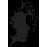 Sticker Signe du Zodiaque Gemeaux