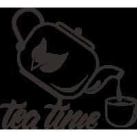 Sticker Tea Time
