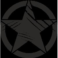 Sticker Etoile US Griffes