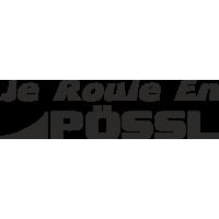 Sticker Je roule en POSSL