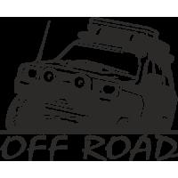 Sticker 4x4 offroad 6