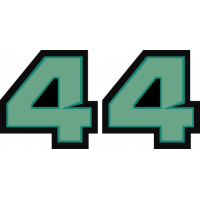 Sticker Lewis Hamilton 44