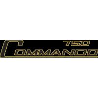 Sticker NORTON Commando 750 Doré