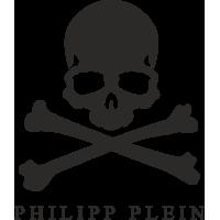 Sticker Philipp Plein Tête de Mort