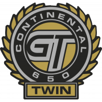 Sticker MOTO ROYAL ENFIELD Continental GT 650