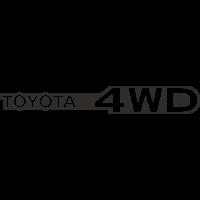 Sticker TOYOTA 4WD