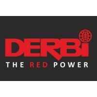 Sticker DERBI LOGO RED POWER
