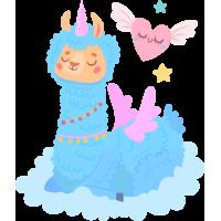 Sticker Lama Nuage