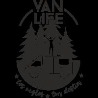 Sticker Van Life tes règles ton destin