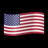 Autocollant Drapeau américain 2