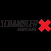Sticker LOGO DUCATI Scrambler