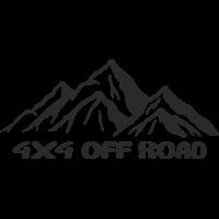 Sticker deco 4x4 Offroad 4
