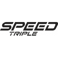 Sticker TRIUMPH SPEED TRIPLE logo