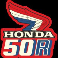 Sticker HONDA 50R RECTO
