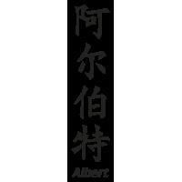 Prenom Chinois Albert
