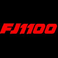 Sticker YAMAHA FJ 1100 Couleur