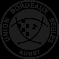 Sticker Rugby  Union Bordeaux Belges