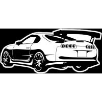 Sticker TOYOTA Car