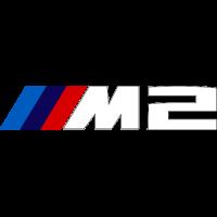 Sticker BMW M2 Blanc