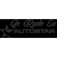 Sticker Je roule en Autostar