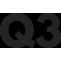 Sticker Audi Q3