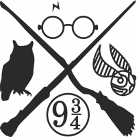 Sticker Harry Potter 2