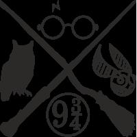 Sticker Harry Potter 2