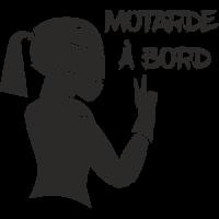 Sticker Motarde à bord 2