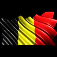 Autocollant Drapeau Belgique