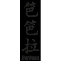 Prenom Chinois Barbara