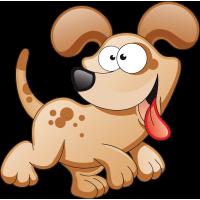 Stickers chien pour enfants
