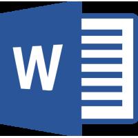 Sticker Microsoft Word