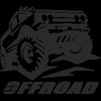 Sticker deco 4x4 Offroad 7