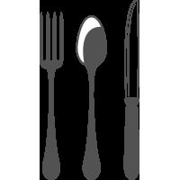 Sticker Couvert Cuisine