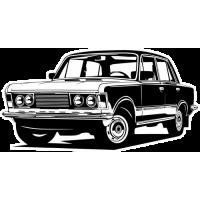 Sticker FIAT Car