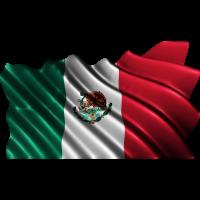Autocollant Drapeau Mexique